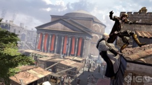 Assassin's Creed: Brotherhood, scene fra Pantheon i Roma